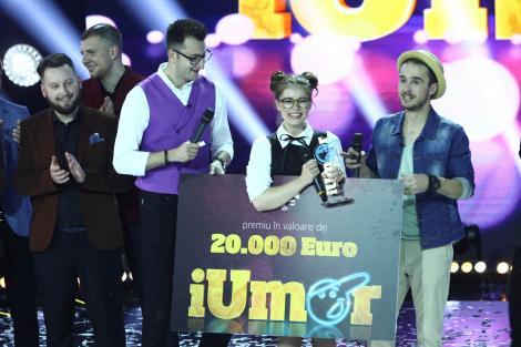 """iUmor mai mare ca al ei nu a avut nimeni! Doina Teodoru este câștigătoarea celui de al treilea sezon """"iUmor"""""""