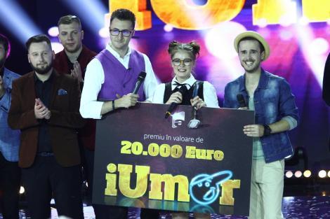 """Duminică, 21 mai, când Doina Teodoru a devenit câștigătoarea celui de-al treilea sezon,    Antena 1 a fost lider de piață pe toate targeturile de populație cu finala """"iUmor"""""""