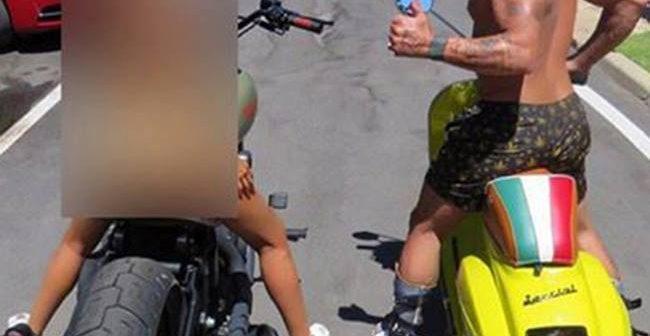 Gianluca Vacchi și soția au făcut schimb de... motoare! Italianul și-a lăsat partenera să-i încerce bijuteria!