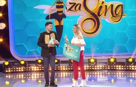 """Show de zile mari în ultima ediție a emisiunii """"Zaza Sing"""", unde Elena a fost aleasă câștigătoare!"""