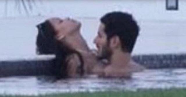 O piscină, o vedetă şi o… pasiune de neoprit! Rihanna, fotografiată în ipostaze incendiare alături de un bărbat misterios. Foto de senzaţie!