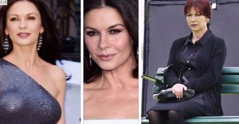 """Toți bărbații suspinau după ea în """"Masca lui Zorro"""", însă acum e de nerecunoscut! Catherine Zeta Jones, confundată cu o bătrânică: """"Ce s-a întâmplat cu tine?"""""""