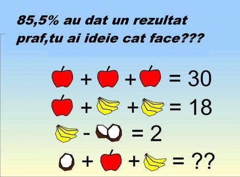 Pare simplu, dar multe persoane dau greș când vine vorba de răspuns. Testul fructelor ne dă mari bătăi de cap!