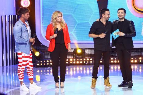 "Paula Chirilă, Max Dragomir și Dorian Popa fac spectacol la ""Zaza Sing""!"