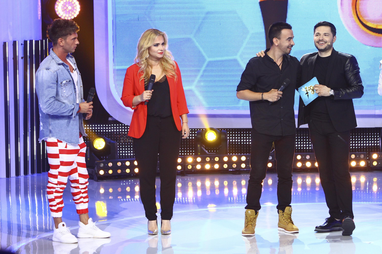 """Toți talentați, Doamne, și toți trei la """"Za Za Sing""""! Dorian Popa, Paula Chirilă şi Daniel Max Dragomir, show de nota zece pe scenă!"""