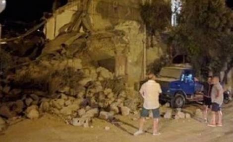 ITALIA. Copii găsiți în viață sub dărâmături! Doi morți în urma unui cutremur în apropiere de Napoli