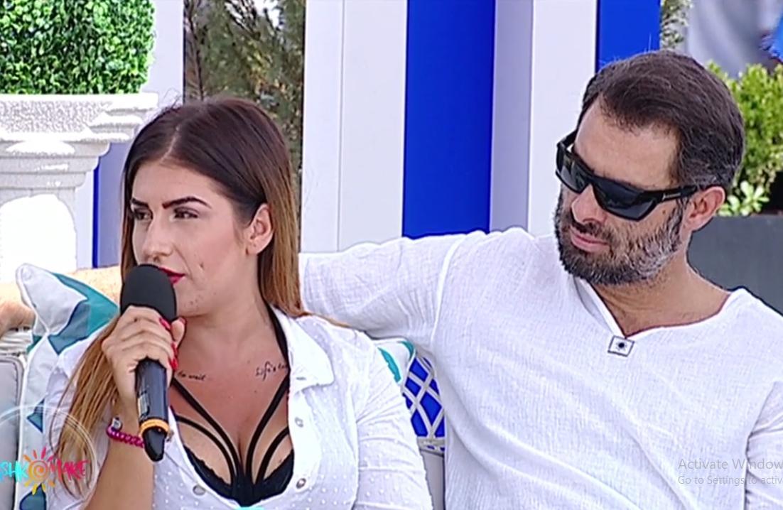 """Alexandra şi Raul de la """"Insula Iubirii"""" au venit împreună la """"Gashka mare"""". Nu i-ai mai văzut atât de apropiaţi"""