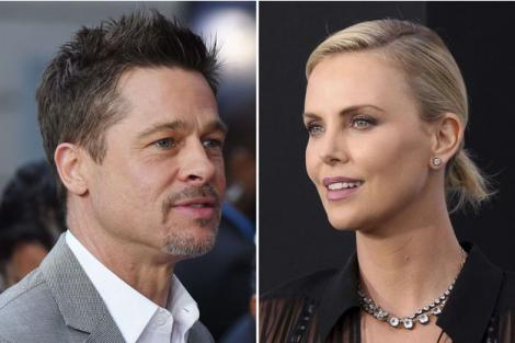 Să fie acesta noul cuplu al anului? Brad Pitt şi Charlize Theron, împreună?