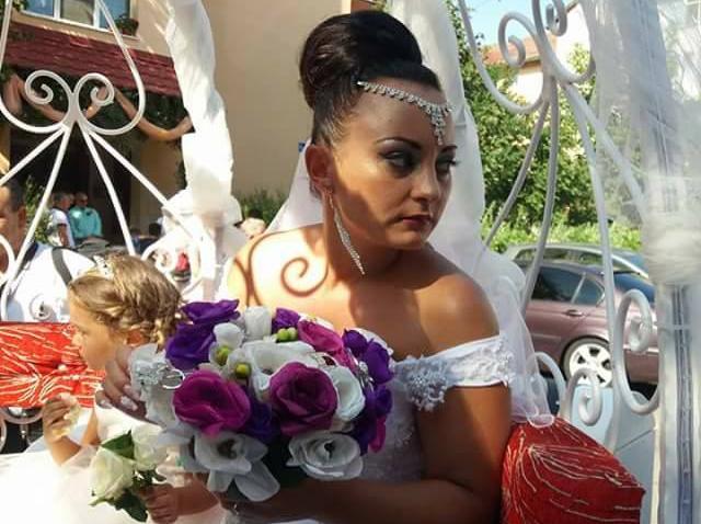 """Foto. Eduard și Lavinia de la """"Mireasă pentru fiul meu"""" s-au căsătorit. Primele imagini de la eveniment"""