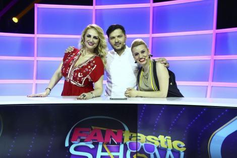 """Alina Pușcaș, Anisia Gafton, Julia Jianu și Alin Pascal fac echipă cu Liviu Vârciu și Andrei Ștefănescu, la """"FANtastic Show"""""""
