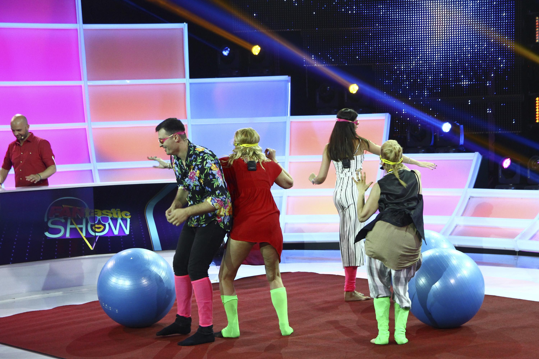 "Prinde mingea sau ai pierdut! Vedetele s-au întrecut la dans și au făcut show de zile mari la ""FANtastic Show"""