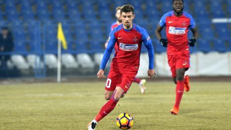 Accidentare de ultimă oră la FCSB! Un jucător de bază este incert și ar putea rata meciul cu Viktoria Plzen din Europa League