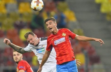 """După """"Lampard"""" Popescu și """"van Basten"""" Man, Becali ridică în slăvi un alt jucător de la FCSB după meciul cu Plzen: """"E un diamant!"""""""
