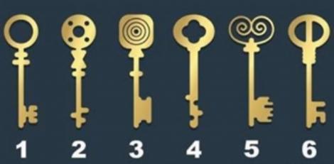 Alege cheia cu care ai deschide o cutie veche de lemn și află ce fel de persoană ești! Ai curaj să încerci testul?