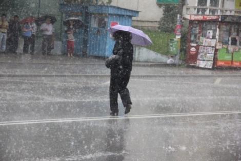 Vremea 11 Ianuarie. Precipitații abundente și lapoviță în Cluj-Napoca