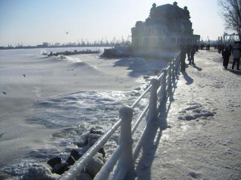 Vremea 12 ianuarie în Constanța. Va fi înnorat toată ziua