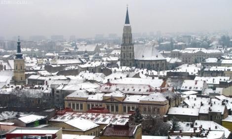 Vremea 12 ianuarie.Cer în general noros în Cluj-Napoca