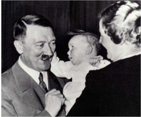 Incredibil. El este ROMÂNUL botezat de Adolf Hitler!!! Ce nume a putut să-i pună liderul nazist