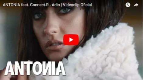 """Antonia şi Connect-R îşi spun """"Adio"""". Cea mai tare piesă a începutului de an e aici. Ascult-o şi dă-i o notă!"""