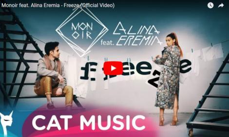 """Colaborarea începutului de an. Alina Eremia şi Monoir, piesă numai bună de """"spart"""" topurile muzicale. Ascultă şi tu """"Freeze""""!"""
