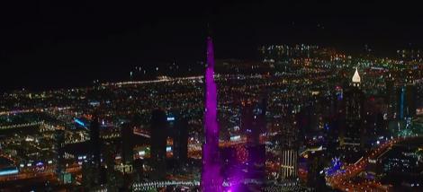 Cel mai tare show de Revelion a fost în Dubai! Spectacolul de la Burj Khalifa a intrat în Cartea Recordurilor!
