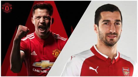 """OFICIAL: Schimbul anului în fotbalul european. Manchester United și Arsenal au făcut """"schimb de staruri"""": Alexis vs. Mkhitaryan"""