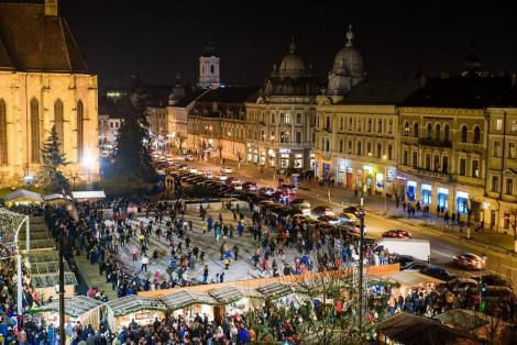 VREMEA 26 ianuarie Cluj-Napoca. Atmosferă plăcută în Transilvania