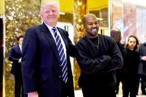 """Kanye West și Donald Trump, întâlnirea cu surprize. Ce pregătește artistul: """"nu este nevoie să cred în politica pe care o face"""""""
