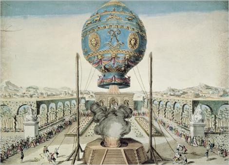 O nouă eră începea în urmă cu trei secole. Se ridicau de la sol primii oameni, într-un balon cu aer cald. În același an, România trecea printr-o perioadă neagră
