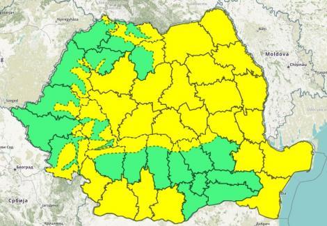 Meteo 3 octombrie 2018. Cum va fi vremea miercuri în România