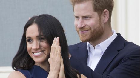 Prințul Harry și Meghan Markle, apariție inedită în Australia: Ducesa și-a afișat burtica de gravidă