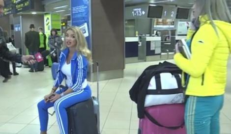 """Vedetele au făcut show pe aeroport înainte de plecarea în aventura """"Asia Express"""". """"Hai Margherita, că te întorci măritată din India"""""""