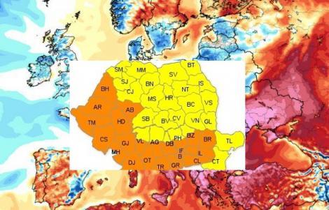 Meteo 25 octombrie. Cât va ninge joi în România