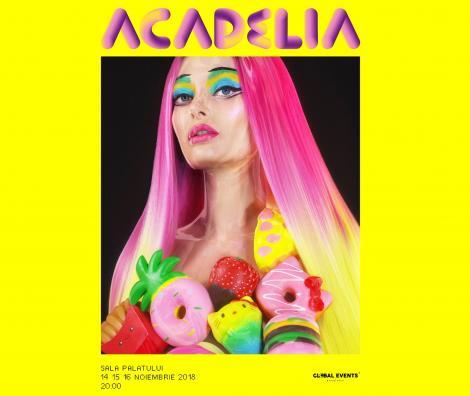 Un duet surpriză, dar și multe premiere la concertul Acadelia, între 14 și 16 noiembrie, la Sala Palatului