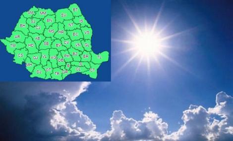 Vremea 30 octombrie. Prognoza meteo anunță temperaturi ridicate