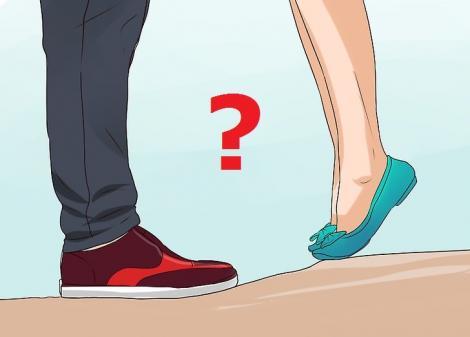 Ce se întâmplă dacă partenerul tău e mai înalt decât tine! Răspunsul te va pune pe gânduri