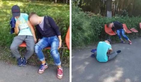 """Răsturnare de situație în cazul tinerilor prăbușiți pe străzile din Câmpia Turzii, despre care s-a spus că ar fi luat drogul """"Zombie""""! A fost făcut anunțul"""