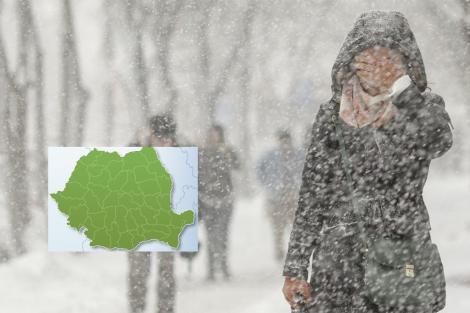 Ger, lapoviță și ninsori săptămâna asta! Prognoza meteo 12-18 noiembrie