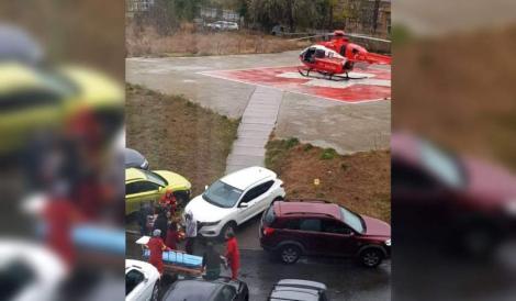 Explicația absurdă dată de medicul rezident care a blocat accesul la heliport! Pacientul transportat cu elicopterul a murit