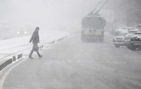Ninsori și polei până joi! Vremea în București pe trei zile 19 - 21 noiembrie