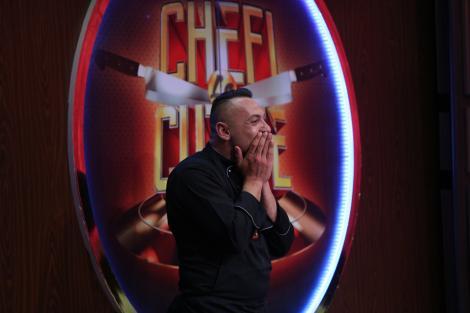 """Christian Spridon a făcut spectacol la """"Chefi la cuțite""""! Artistul, șoc pentru chefi! """"Nu pot să cred, vai!"""""""