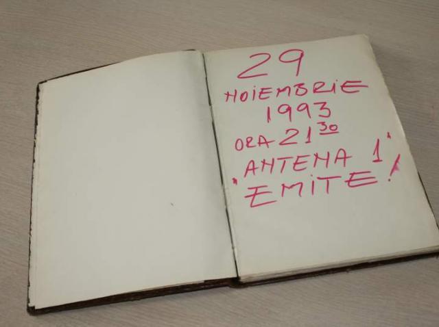 "25 de ani de ANTENA 1. ""29 noiembrie 1993. Ora 21.30. Antena 1 emite""."