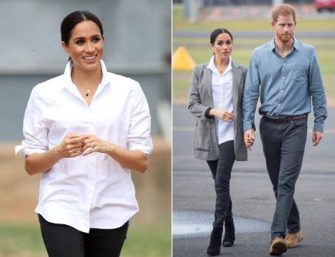 Meghan Markle, dată de GOL de un detaliu neașteptat! Ce SECRET ascunde soția prințului Harry
