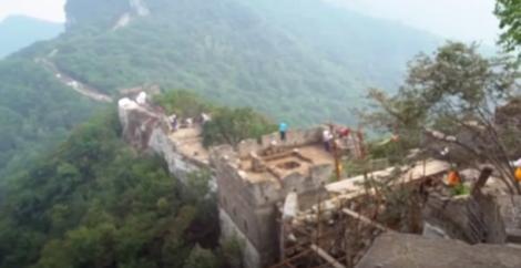 Natura și tehnologia se luptă pentru Marele Zid Chinezesc! Cum vor fi salvate cele mai periculoase zone ale construcției – FOTO