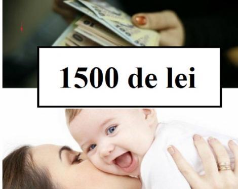 Tichete în valoare de 1.500 de lei pentru fiecare nou-născut, de la 1 ianuarie 2019! Ce condiții trebuie să îndeplinești