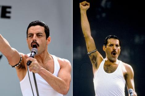 Uimitor! Iată cum a fost transformat Rami Malek în Freddie Mercury. Rezultatul spectaculos a avut un proces complicat