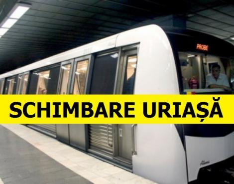 Se întâmplă în curând la metrou! Călătorii vor trăi un adevărat șoc