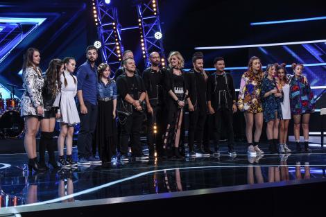 Brenciu și-a pus cele mai bune trupe față-n față! Două dueluri pentru marele premiu X Factor!