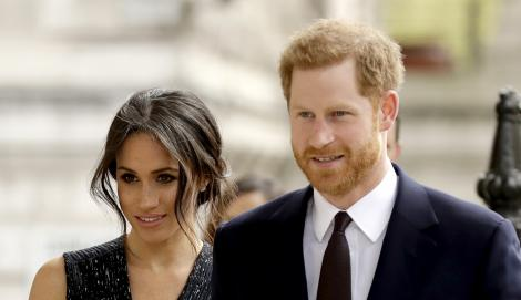 Meghan Markle și Prințul Harry, decizie controversată! Ce se întâmplă în Familia Regală