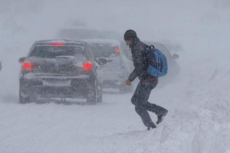 Urgia vine în următoarele zile! Joi vor fi zăpezi mari și ger de -14 grade Celsius